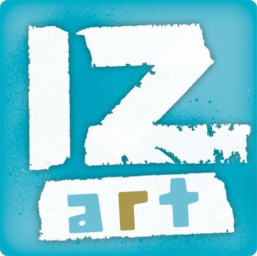 Logo iz art, der Jugendkunstschule 2.0