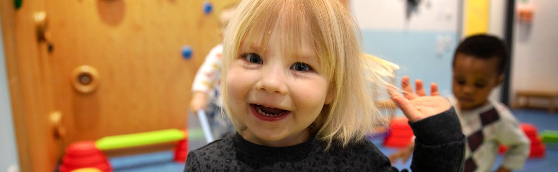Ein lächelndes Kind