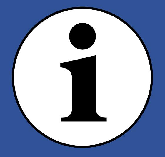 Logo Leichte Sprache Information