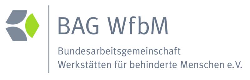 Logo der Bundesarbeitgemeinschaft Werkstätten für behinderte Menschen e.V.